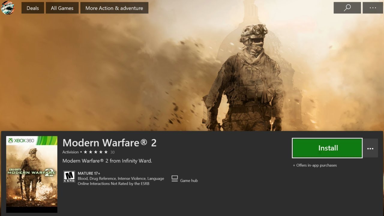 HOW TO DOWNLOAD & PLAY MODERN WARFARE 2 ON XBOX ONE! HOW TO DOWNLOAD MW2  FAST ON XB1