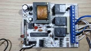 Programação e ligação Placa Universal (RQT5-RQT7-SULPROTEC)  Motor portão