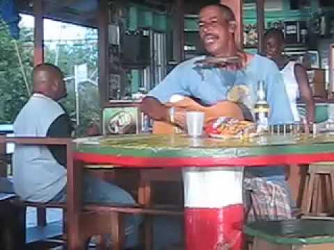 Socony at Hardwood Bar in Carriacou