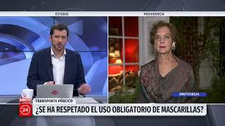 """Hutt por uso obligatorio de mascarillas: """"Es por proteger a las personas"""""""