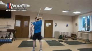 Weightlifting / Растяжка плеч в Тяжелой Атлетике / Web-training