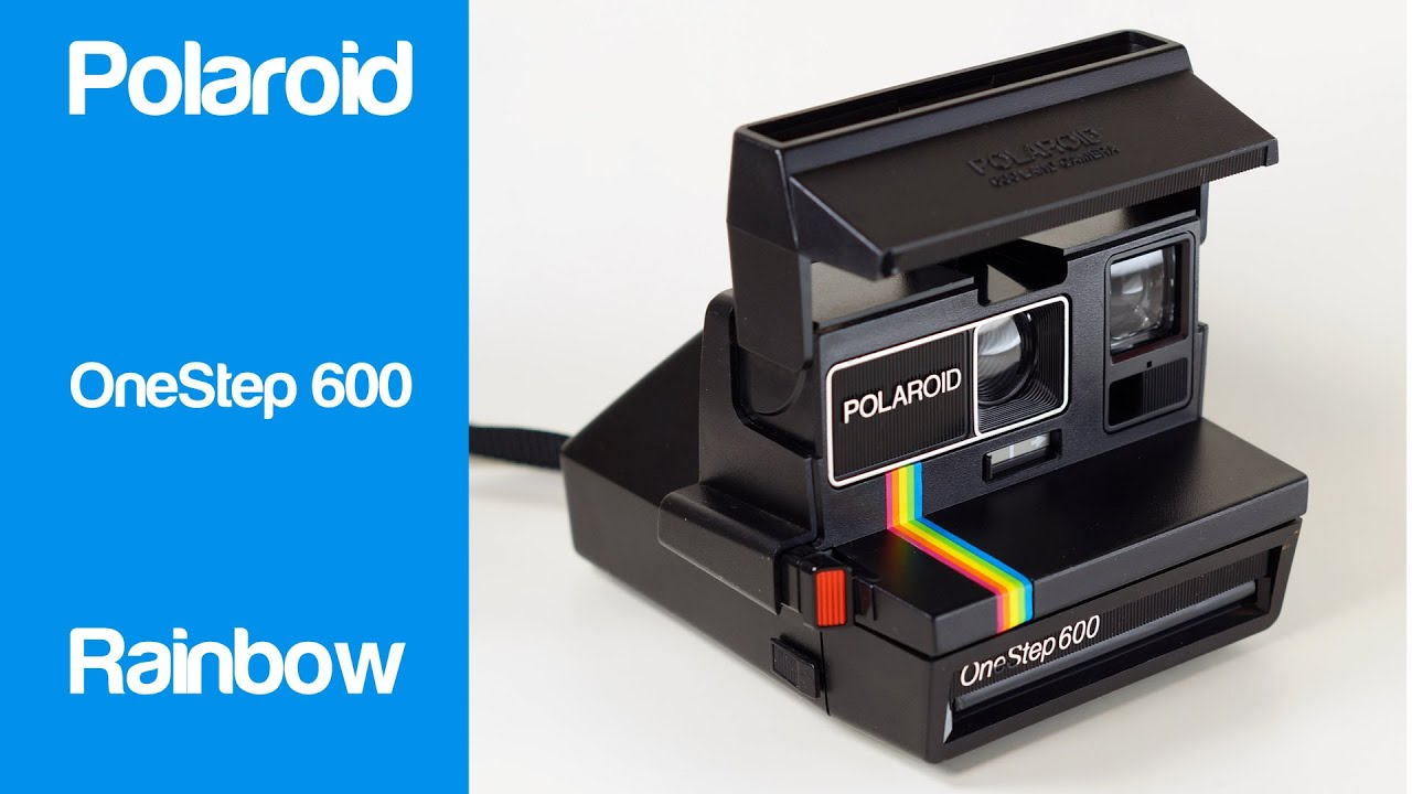 polaroid onestep 600 rainbow instant camera youtube rh youtube com polaroid camera instruction manual 600 polaroid sun 600 lms instruction manual