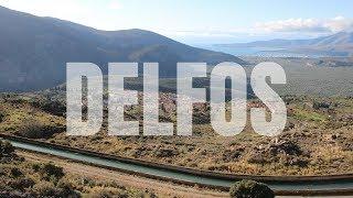 El Hermoso valle de olivos en DELFOS y ARÁJOVA   Viajando con Mirko   GRECIA