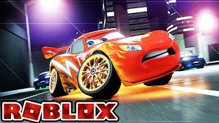 OUT TO SAVE LIGHTNING MCQUEEN | Let's Play Roblox Online Game Gameplay For Kids