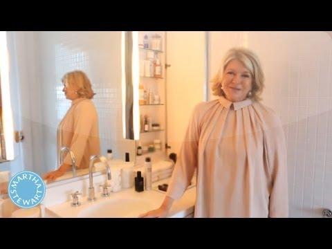 Martha's Skin Care Regimen - Martha Stewart - YouTube