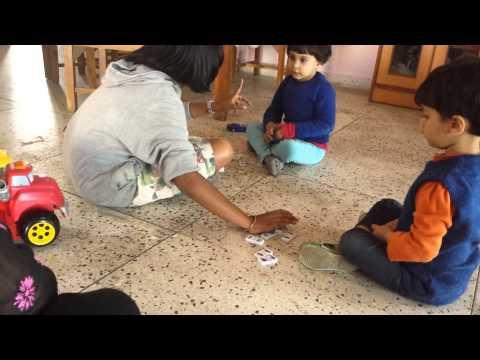 Alyesha Lavanya Shaurya playing with suhani
