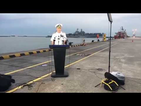 Admiral Scott Swift Provides Update on USS John S McCain Collision