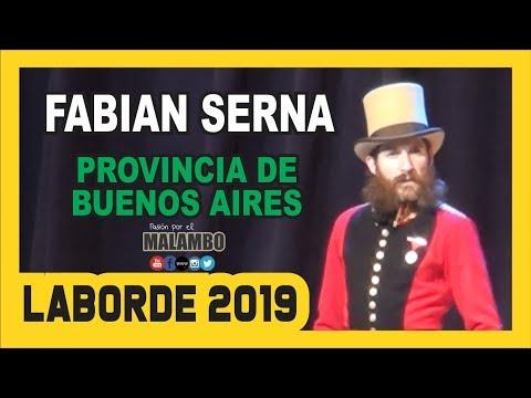 Laborde 2019 Fabian Serna Malambo Sur - Festival Nacional del Malambo