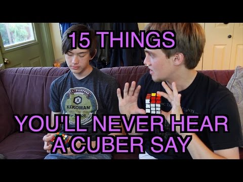15 More Things You'll Never Hear A Cuber Say (Feat. Phil Yu and Rowe Hessler) | ColorfulPockets