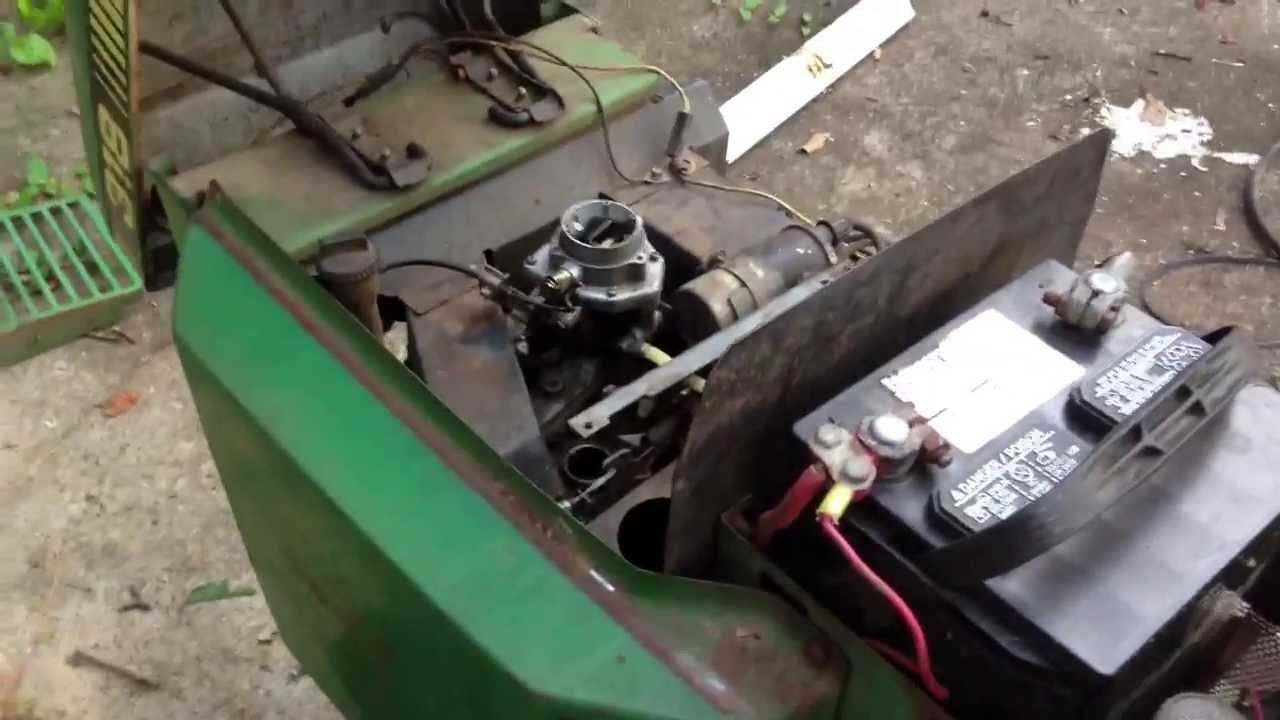 john deere 317 ignition switch wiring diagram 1993 honda accord parts 318 2013 update youtube