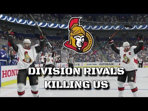 DIVISION RIVALS KILLING US | NHL 18 | Ottawa Senators Be A Pro Ep. 10