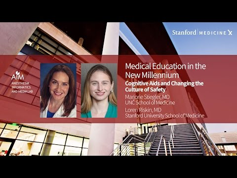 Stanford Med X Live! Patient safety, cognitive bias and the medical training process