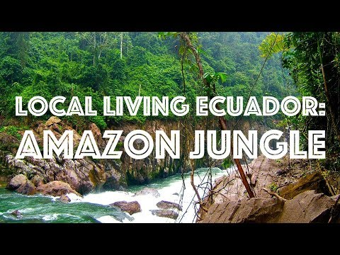 Local Living Ecuador: Amazon Jungle 2017