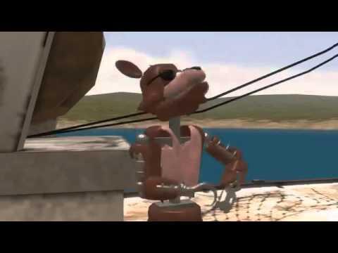 Песня фокси мы пираты на русском анимация