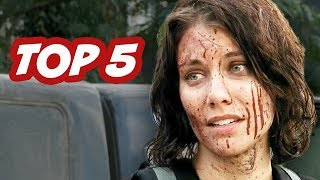 The Walking Dead Season 4 Episode 13 - Top 5 WTF Moments
