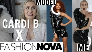 FINALLY REVIEWING CARDI B X FASHION NOVA...I waited a month for THIS?!