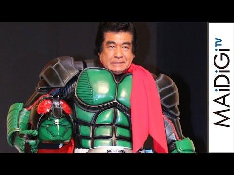 藤岡弘 仮面ライダー1号 CM スチル画像。CM動画を再生できます。