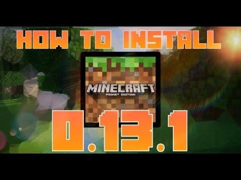 minecraft 0.13 1 apk download
