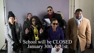 Schools Closed January 30th - 31st, 2019