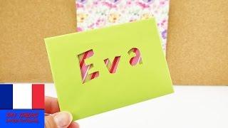 carte d anniversaire jolie enveloppe a faire soi meme carte multicolore a bricoler bricoler