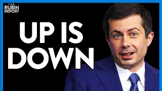 Buttigieg Confuses CNN Host, ImpĮying Supply Chain Issues Are Good | Direct Message | Rubin Report