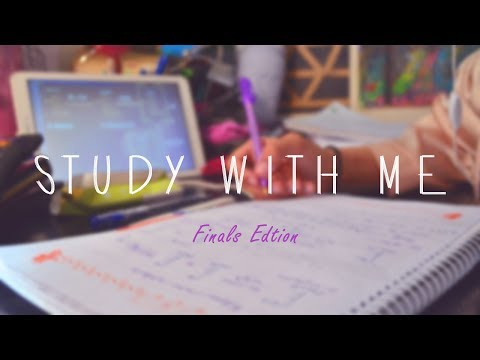 Study with me for finals - Real time [Relaxing Studying Music] Pharmacy School