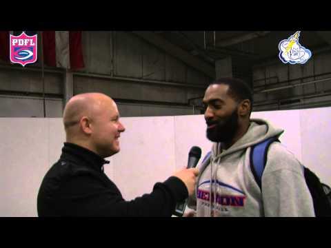 Curtis Johnson Combine Interview