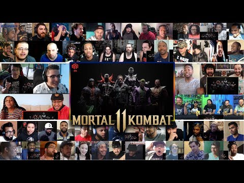 (10+ Youtubers) Mortal Kombat 11 Kombat Pack – Official Roster Reveal Trailer REACTIONS MASHUP