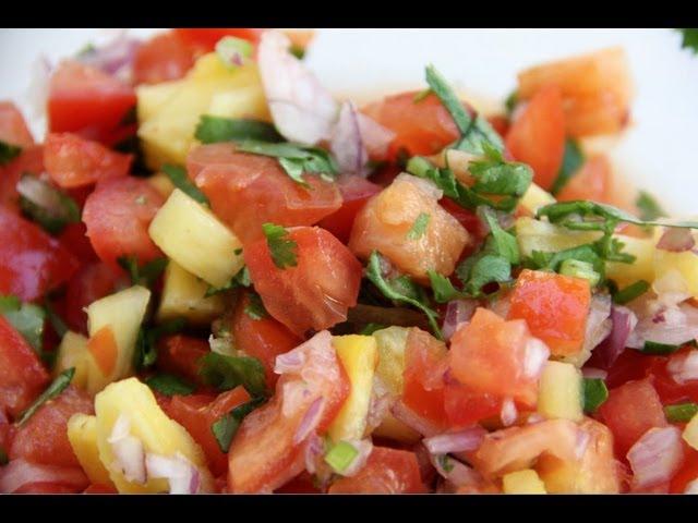 Pineapple Salsa (Giggle Gourmet)