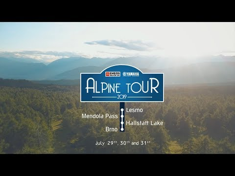 2019 Alpine Tour - From Lesmo to Brno