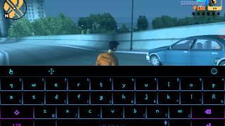 trucos de GTA III con teclado virtual