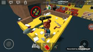 Crazy weapons in Roblox