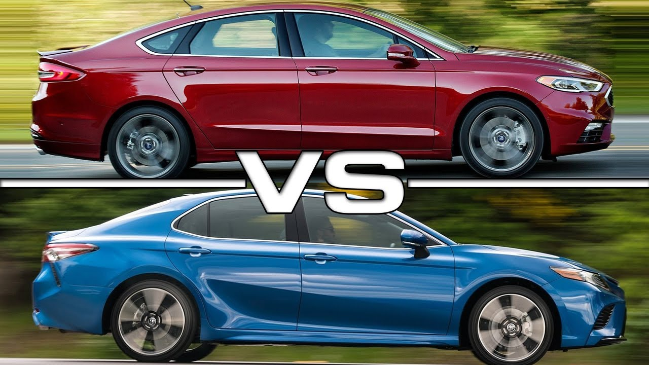 2017 Ford Fusion Vs 2018 Toyota Camry