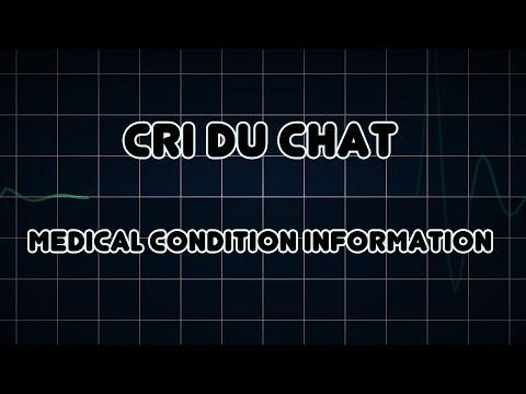 Cri Du Chat (Medical Condition)