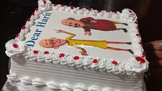 Motu patlu photo. cakes