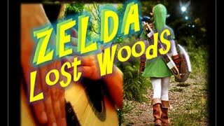 SPLIT SCREEN: THE LEGEND OF ZELDA: OCARINA OF TIME / LOST WOODS UNPLUGGED VERSION
