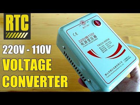 Step Down VOLTAGE CONVERTER 220V To 110V Power Transformer For European Travel