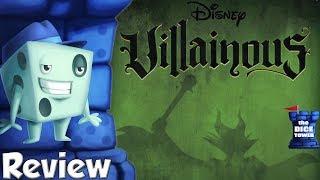 Villainous Review - with Tom Vasel