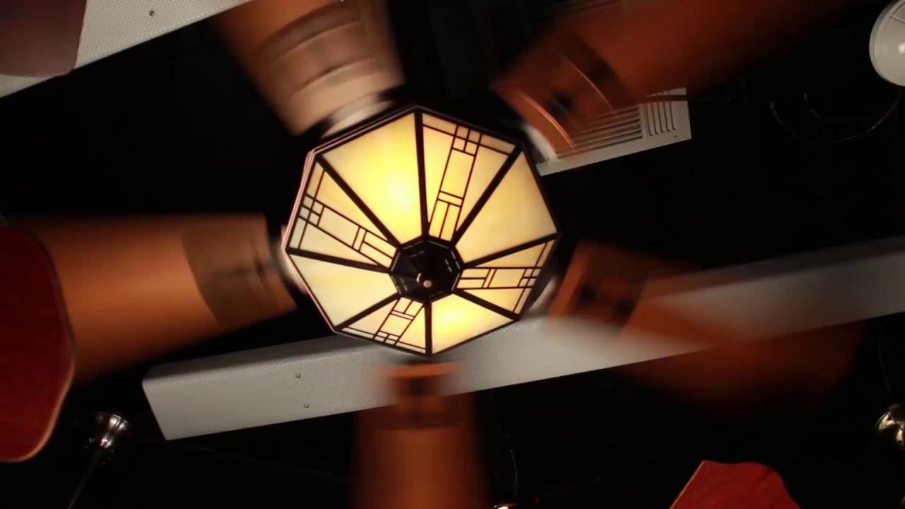 Casablanca Mission Ceiling Fan - YouTube