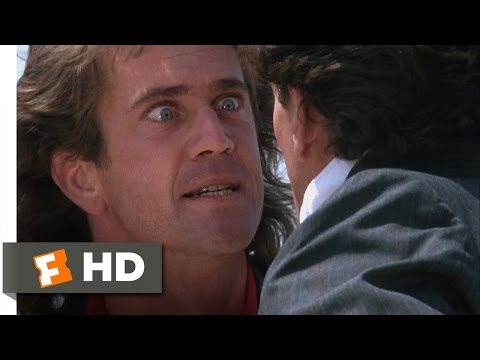 Lethal Weapon (4/10) Movie CLIP - Do You Really Wanna Jump? (1987) HD