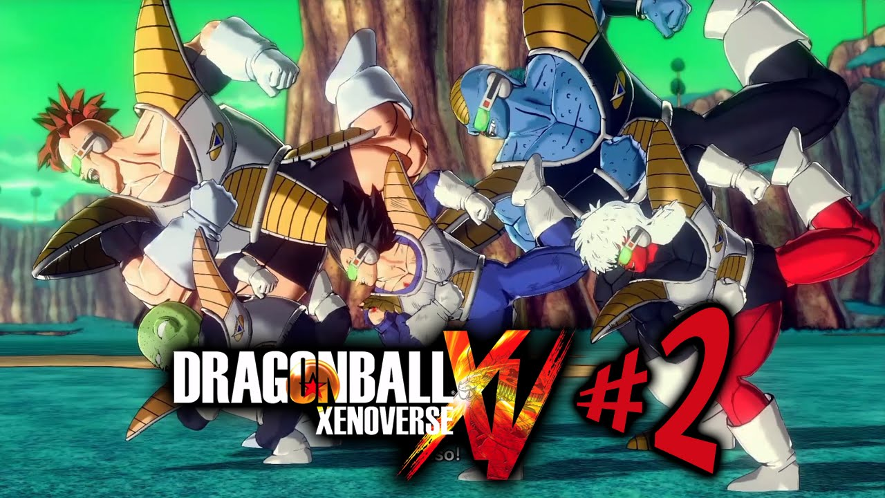LUCKY SALAMANDER - Dragon Ball Xenoverse - Parte 2: Forças Especiais Ginyu!! [ Playstation 4 - Playt