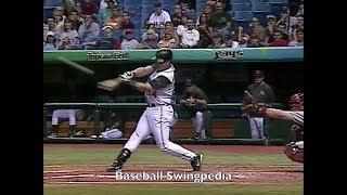 Tino Martinez Home Run Swing Slow Motion 2004-2(#23)