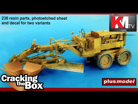 Plus Model U.S. Motor Grader (1/35) Resin Kit #426