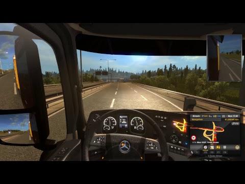Euro Truck Simulator 2 Multiplayer | Freight Market from Klagenfurt to Zurich