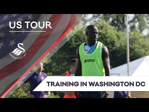 Swans TV - 🇺🇸 US TOUR 🇺🇸 Training in Washington D.C