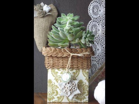 Recyklujte so mnou, pletenie z papiera / Recycle with me, paper knitting