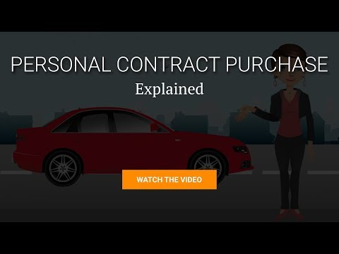 babc04302d How Personal Contract Purchase Works Video