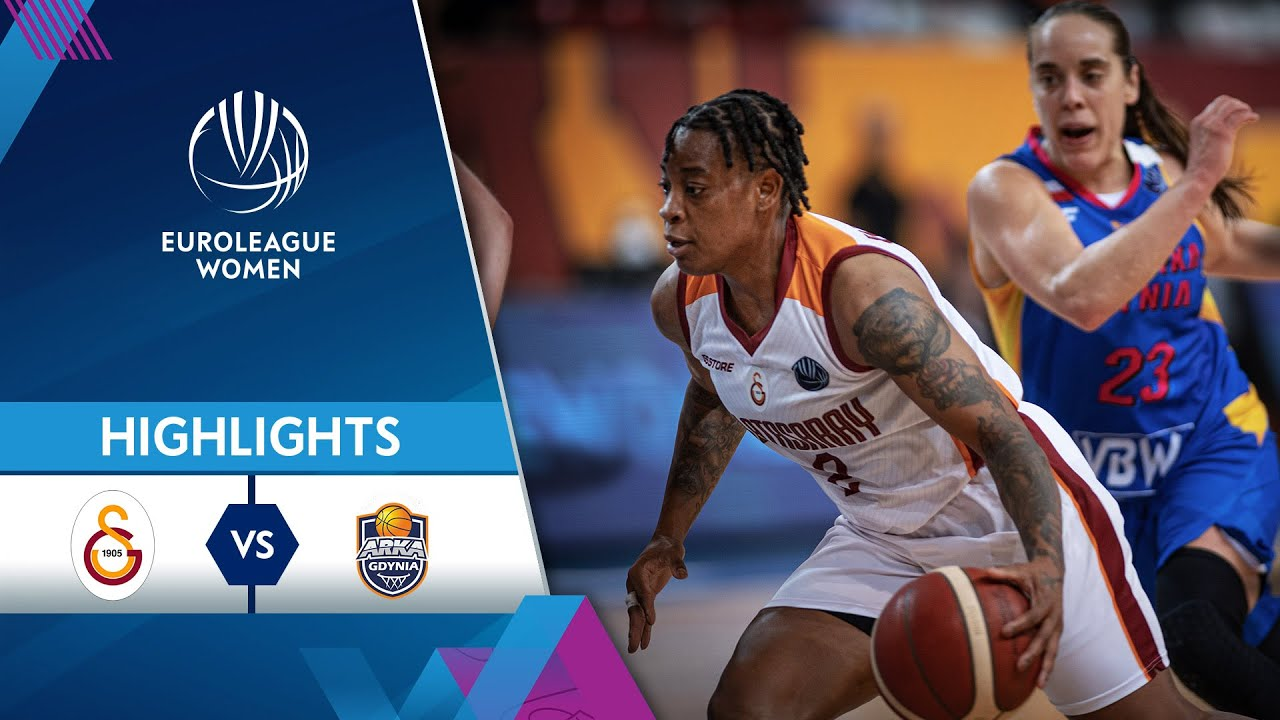 Galatasaray - VBW Arka Gdynia | Highlights | EuroLeague Women 2021/22