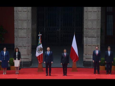 Ceremonia Bienvenida: Visita de Estado Presidente República de Polonia, Andrzej Duda