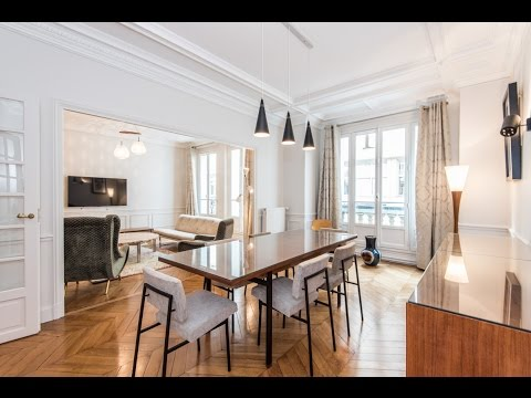 (Ref: 17065) 3-Bedroom furnished apartment for rent on rue des Renaudes (paris 17th)